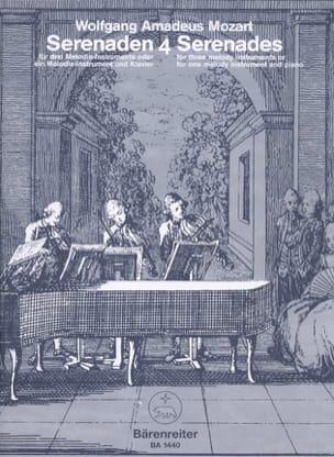 Serenades, Volume 4 MOZART Partition laflutedepan