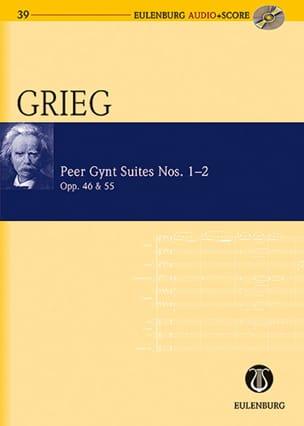 Peer Gynt - Suites N° 1-2 Op. 46 et 55 GRIEG Partition laflutedepan