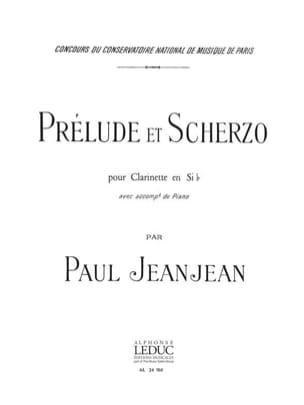 Paul Jeanjean - Prelude and Scherzo - Partition - di-arezzo.co.uk