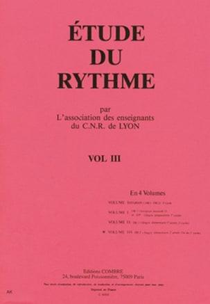 Etude du rythme - Volume 3 - DE2 de Lyon C.N.R. laflutedepan