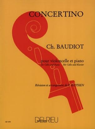 Concertino - Violoncelle Charles Baudiot Partition laflutedepan