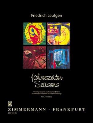 Jahreszeiten - Flöte Solo Friedrich Leufgen Partition laflutedepan
