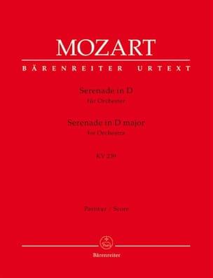 Serenade D-Dur KV 239 - Partitur - MOZART - laflutedepan.com