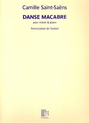 Danse Macabre Op. 40 SAINT-SAËNS Partition Violon - laflutedepan