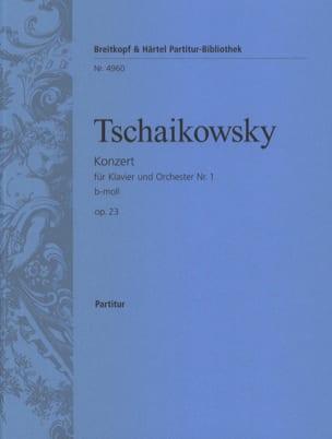 Concerto pour Piano n° 1 - Conducteur TCHAIKOVSKY laflutedepan