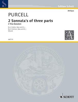 2 Sonnata's of 3 parts - 2 Violinen und Bc PURCELL laflutedepan