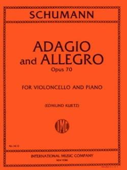 SCHUMANN - Adagio and Allegro op. 70 - Cello - Partition - di-arezzo.co.uk