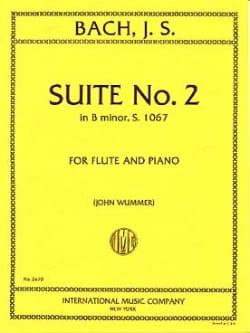 Suite n° 2 in B minor BWV 1067 - Flute piano BACH laflutedepan