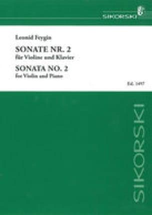 Sonate n° 2 op. 48 - Leonid Feygin - Partition - laflutedepan.com