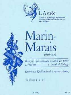 Musette et Branle de Village Marin Marais Partition laflutedepan