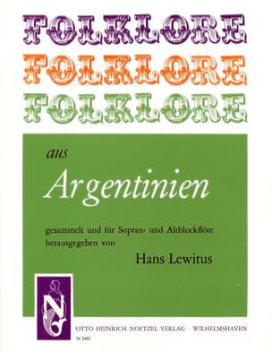 Folklore Aus Argentinien Traditionnels Partition laflutedepan