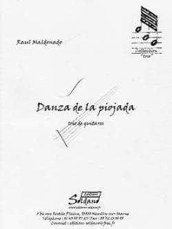 Danza de la Piojada Raul Maldonado Partition Guitare - laflutedepan