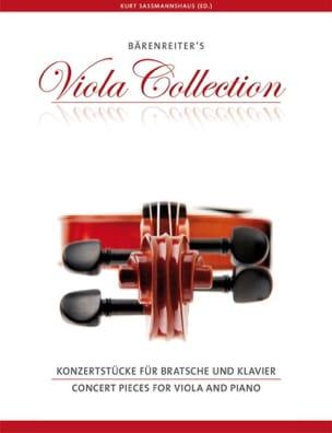 Concert Pieces for Viola and piano Partition Alto - laflutedepan