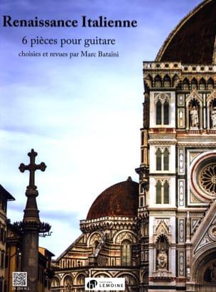 Renaissance Italienne - Guitare Partition Guitare - laflutedepan
