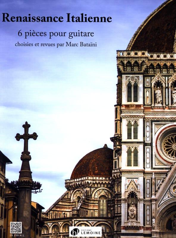 Renaissance Italienne - Guitare - Partition - laflutedepan.com