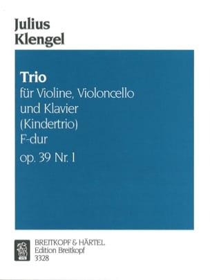Kindertrio F-Dur op. 39 n° 1 - Julius Klengel - laflutedepan.com