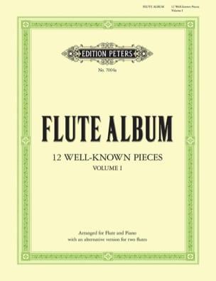 Flute Album - Volume 1 Partition Flûte traversière - laflutedepan
