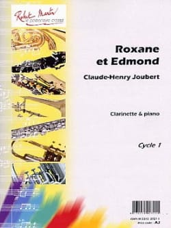 Roxane et Edmond Claude-Henry Joubert Partition laflutedepan