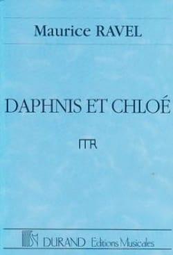 Daphnis et Chloé Complet - Conducteur RAVEL Partition laflutedepan