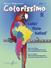 Colorissimo - Volume 1 Olivier Ombredane Partition laflutedepan