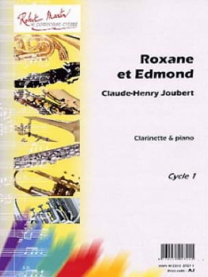 Roxane et Edmond - Claude-Henry Joubert - Partition - laflutedepan.com