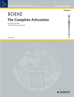 The complete articulator Kees Boeke Partition laflutedepan