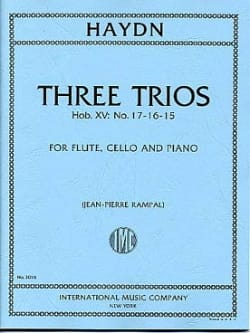 3 Trios Hob. 15 n° 15, 16, 17 - Flute, cello and piano laflutedepan