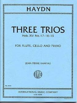3 Trios Hob. 15 n° 15, 16, 17 -Flute, cello and piano laflutedepan