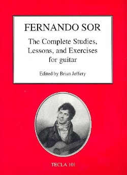 The Complete Studies, Lessons and Exercices - Guitare SOR laflutedepan