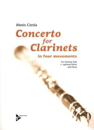 Concerto for Clarinets Alexis Ciesla Partition laflutedepan