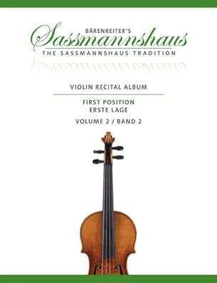 Violon Recital Album, Vol. 2 egon Sassmannshaus Partition laflutedepan