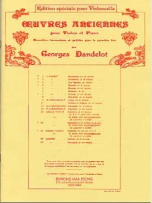 Concerto en ré Majeur, op. 3 n° 9 - Violoncelle - laflutedepan.com