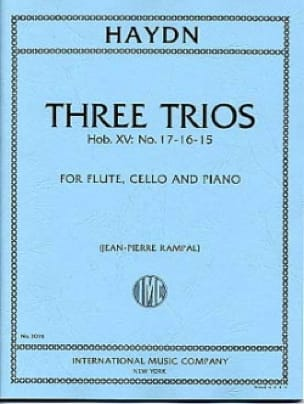 3 Trios Hob. 15 n° 15, 16, 17 - Flute, cello and piano - laflutedepan.com