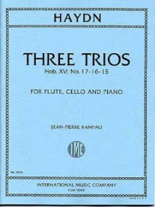 3 Trios Hob. 15 n° 15, 16, 17 -Flute, cello and piano - laflutedepan.com