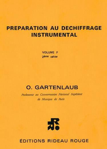 Préparation au Déchiffrage Instr. Volume F2 Harpe - laflutedepan.com