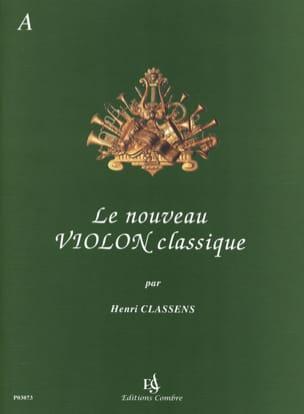 Le Nouveau Violon Classique Volume A CLASSENS Partition laflutedepan