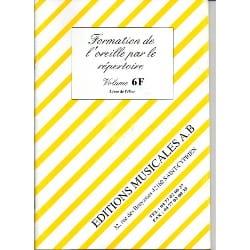 Formation de l'Oreille par le Répertoire Vol. 6F laflutedepan