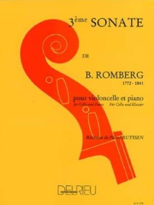 Sonate n° 3 en sol majeur - ROMBERG - Partition - laflutedepan.com