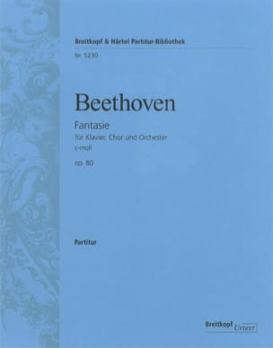 Fantaisie für Klavier, Chor und Orch. C-Moll Op. 80 laflutedepan