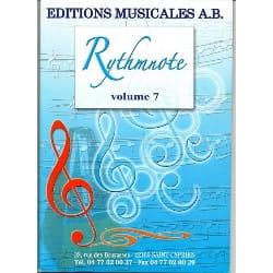Rythmnote Volume 7 - CD à télécharger Partition laflutedepan