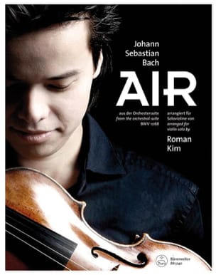 BACH - Air of the Suite BWV 1068 - Solo violin - Partition - di-arezzo.co.uk