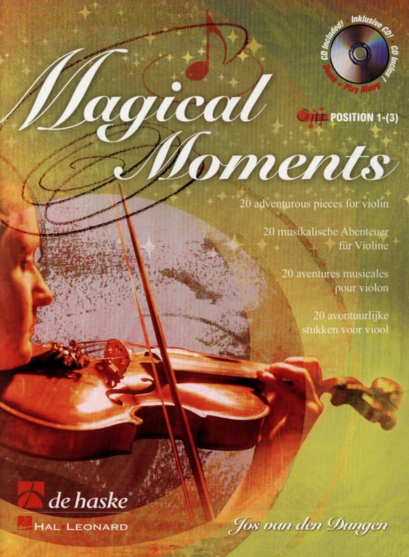 Magical Moments - Den Dungen Van - Partition - laflutedepan.com
