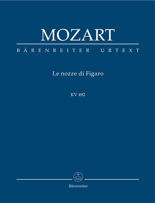 Les Noces de Figaro - MOZART - Partition - laflutedepan.com