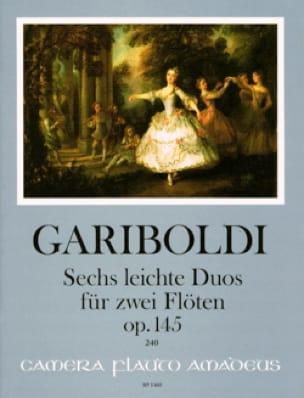 6 Leichte Duos, op. 145 - 2 Flûtes - GARIBOLDI - laflutedepan.com