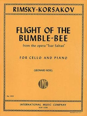 Flight of the bumble-bee RIMSKY-KORSAKOV Partition laflutedepan