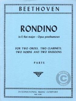 Rondino in E Flat major op. posth. -Parts BEETHOVEN laflutedepan