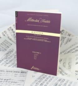 Méthodes et Traités Volume 1 - Basson Partition laflutedepan