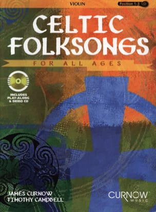 Celtic Folksongs -violin Curnow James / Cambell Timothy laflutedepan