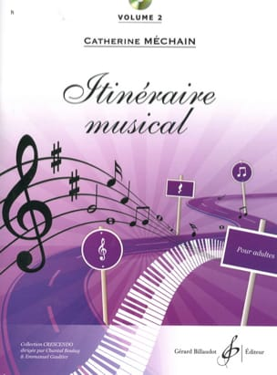 Itinéraire musical - Volume 2 Catherine Méchain laflutedepan