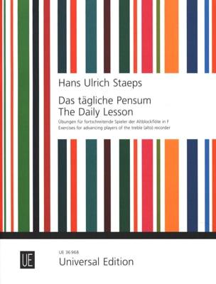 Das Tägliche pensum Hans Ulrich Staeps Partition laflutedepan